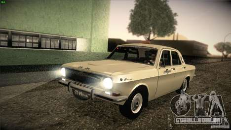 GAZ-24 Volga táxi 01 para GTA San Andreas