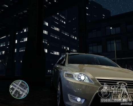 Ford Mondeo Mk4 para GTA 4 vista de volta