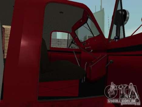 GAZ 51 20 ADC para GTA San Andreas vista interior