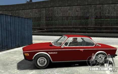 BMW 3.0 CSL E9 1971 para GTA 4 esquerda vista