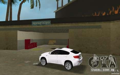 BMW X6M 2010 para GTA Vice City deixou vista