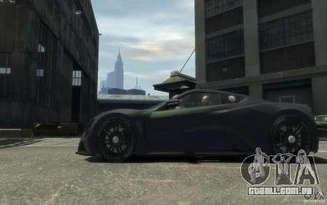 Zenvo ST1 2010 v2.0 para GTA 4
