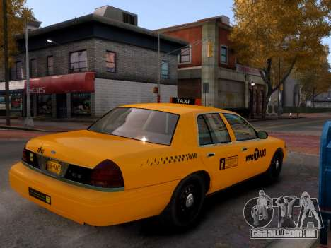 Ford Crown Victoria NYC Taxi 2013 para GTA 4