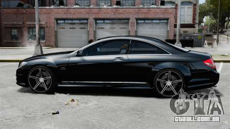 Mercedes-Benz CL65 AMG v1.1 para GTA 4 esquerda vista