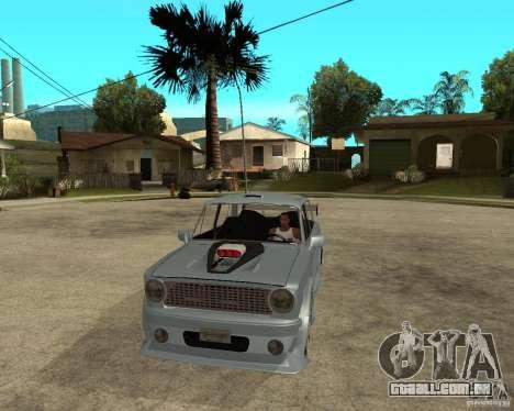 2101 VAZ carro TUNING por ANRI para GTA San Andreas vista traseira