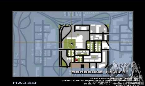 Campo de beisebol animado para GTA San Andreas quinto tela