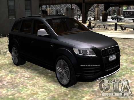 Audi Q7 V12 TDI Quattro Final para GTA 4 vista de volta