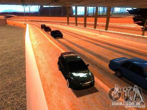 Drivers normal na pista para GTA San Andreas por diante tela