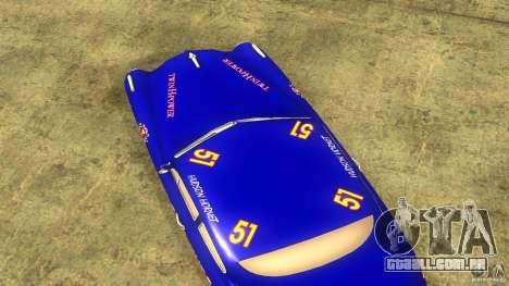 Hornet 51 para GTA San Andreas vista traseira