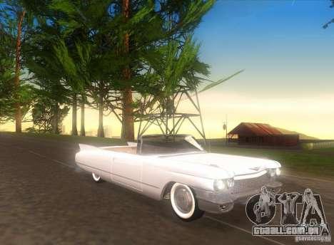 Cadillac Series 62 1960 para GTA San Andreas esquerda vista