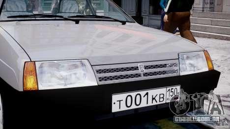 Vaz-21093i para GTA 4 rodas