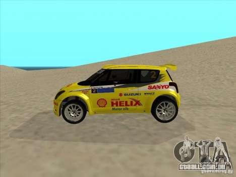 Suzuki Rally Car para GTA San Andreas