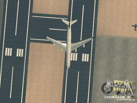 Airbus A340-300 Air Canada para GTA San Andreas vista superior