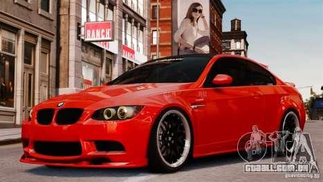 BMW M3 E92 2009 HAMANN para GTA 4
