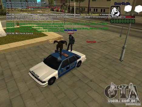 SA:MP 0.3d para GTA San Andreas nono tela