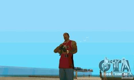 XM8 para GTA San Andreas segunda tela