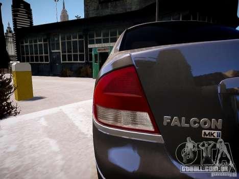 Ford Falcon XR-8 para GTA 4 esquerda vista