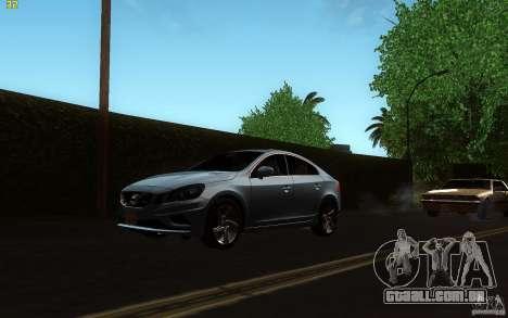 Volvo S60 2011 para GTA San Andreas esquerda vista