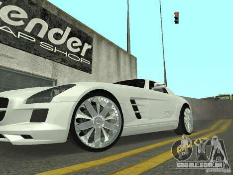 Luxury Wheels Pack para GTA San Andreas segunda tela