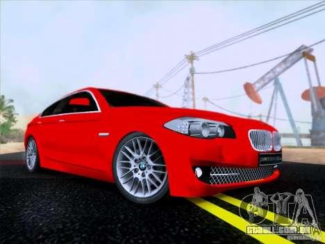 BMW 550i 2012 para GTA San Andreas
