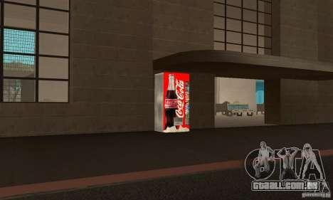 Cola Automat 6 para GTA San Andreas segunda tela