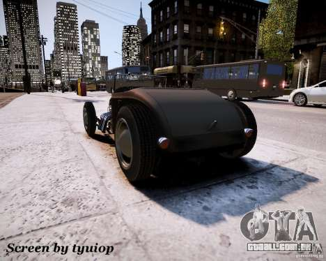 Roadster High Boy para GTA 4 vista direita