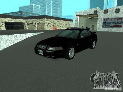 Ford Mustang GT Police para GTA San Andreas