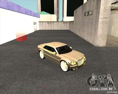 Chrysler 300C dub edition para GTA San Andreas vista direita