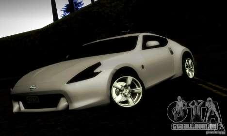 Nissan 370Z V2 para GTA San Andreas