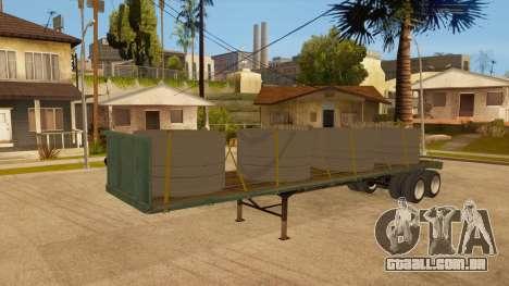 Rede de arrasto para GTA San Andreas vista interior