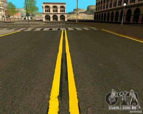 GTA 4 Roads para GTA San Andreas décimo tela
