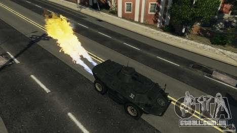 Tank Mod para GTA 4 por diante tela