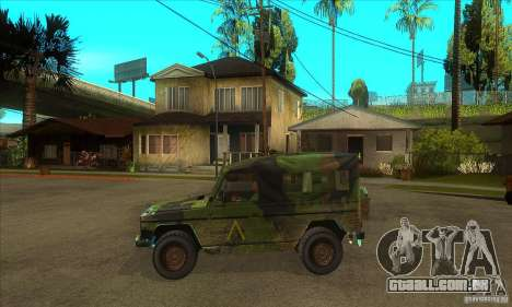 Mercedes Wolf para GTA San Andreas esquerda vista