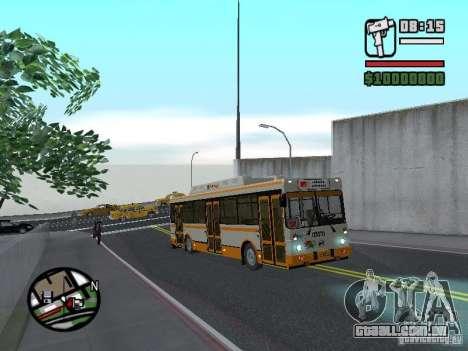 LIAZ 5283.70 para GTA San Andreas vista traseira