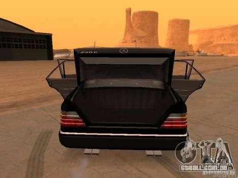 Mercedes-Benz E250 V1.0 para GTA San Andreas vista direita