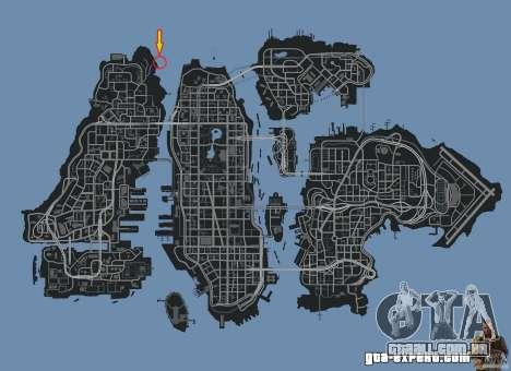 4x4 Trail The Reef para GTA 4 por diante tela