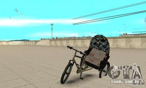 Manual Rickshaw v2 Skin3 para GTA San Andreas