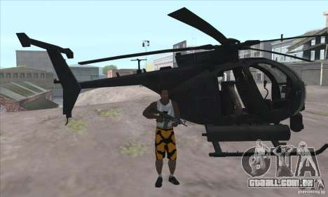 Care Package from MW2 para GTA San Andreas segunda tela