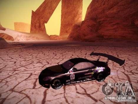 Lexus SC430 Daigo Saito para GTA San Andreas esquerda vista