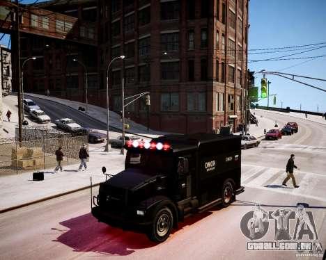 Russian Enforcer para GTA 4 esquerda vista
