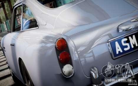 Aston Martin DB5 1964 para GTA 4 esquerda vista