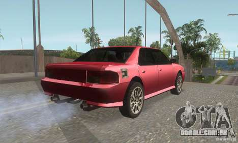 New Sultan HD para GTA San Andreas vista direita
