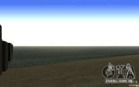 Água HD v 2.0 para GTA San Andreas por diante tela