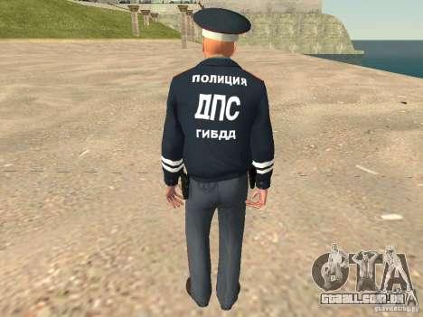 Major DPS para GTA San Andreas segunda tela