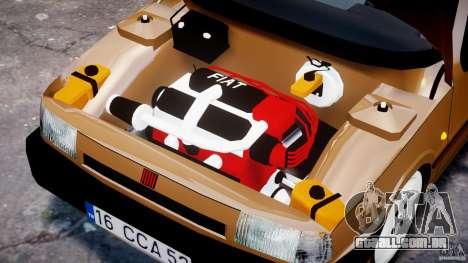 Fiat Tipo 1990 para GTA 4 vista superior