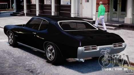 Pontiac GTO 1965 v1.1 para GTA 4 traseira esquerda vista