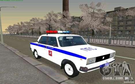 Vaz 2105 PPP Zhiguli para GTA San Andreas