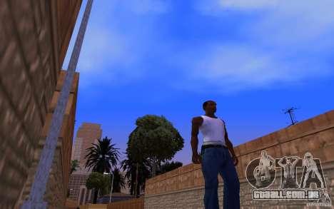 ENBSeries para v2 128-512 MB de placa de vídeo para GTA San Andreas segunda tela