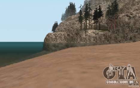 ENBSeries para PC fraco para GTA San Andreas por diante tela