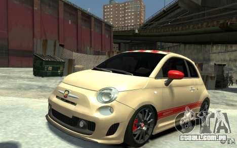 Fiat 500 Abarth Esseesse V1.0 para GTA 4